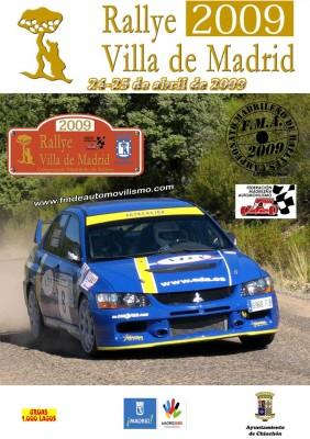 dibujo2 282x400 El Rally Villa de Madrid 2009 comienza el día 24 de Abril