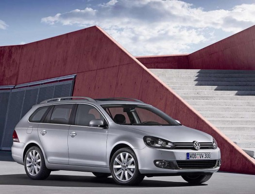 VW Golf Variant 2009, restyling a la vista