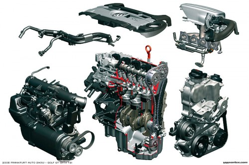 VW Motor 1.4 TSI TwinCharger 500x333 Motor 1.4 TSI de VW, premiado con el International Engine Of The Year 2009