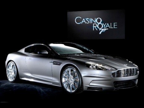 Aston Martin DBS: Casino Royale & Quantum of Solace