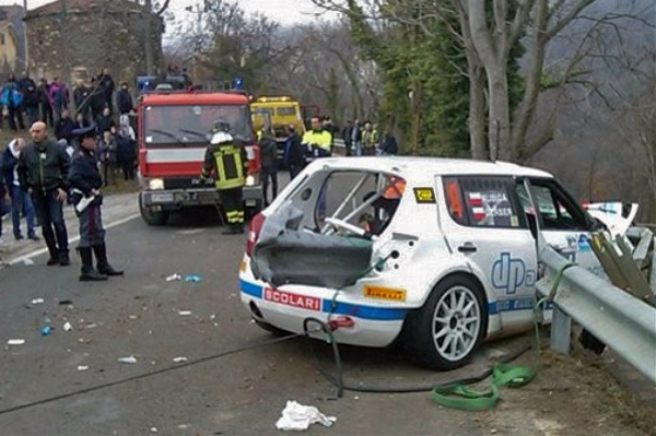 Escalofriantes fotos y videos del accidente de Kubica