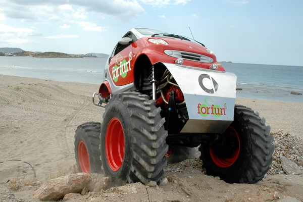 Smart ForFun2, el utilitario 'bigfoot'