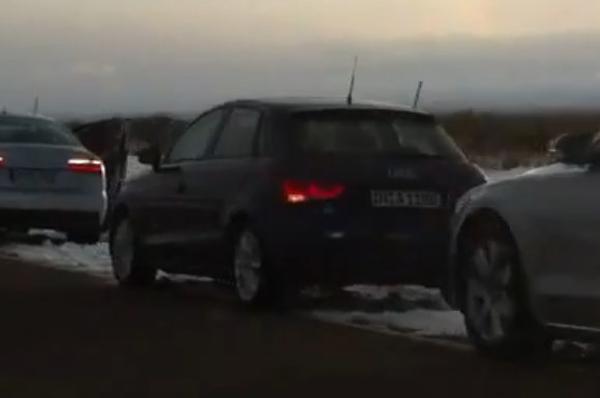 Audi A1 Sportback El Audi A1 Sportback se muestra en video