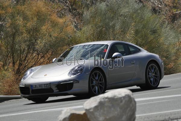 Porsche 911 991 2012 portada Más fotos espía del Porche 911 2012