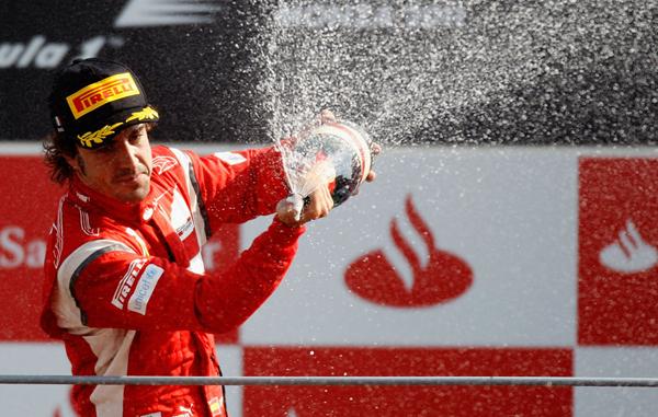 Alonso en Monza 2011 Alonso: Nuestro objetivo en Singapur será ganar la carrera