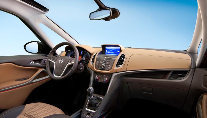 zafira tourer interior Nuevo Opel Zafira Tourer