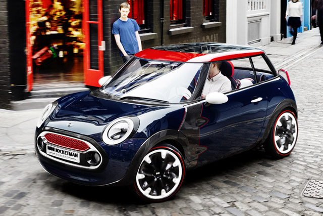 mini1 MINI Rocketman Concept
