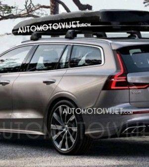 2019 Volvo V60: ¿Estas son las primeras fotos oficiales?